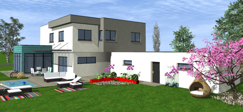 Construire une maison à toit en pente ou à toit plat ? Avantages et inconvénients