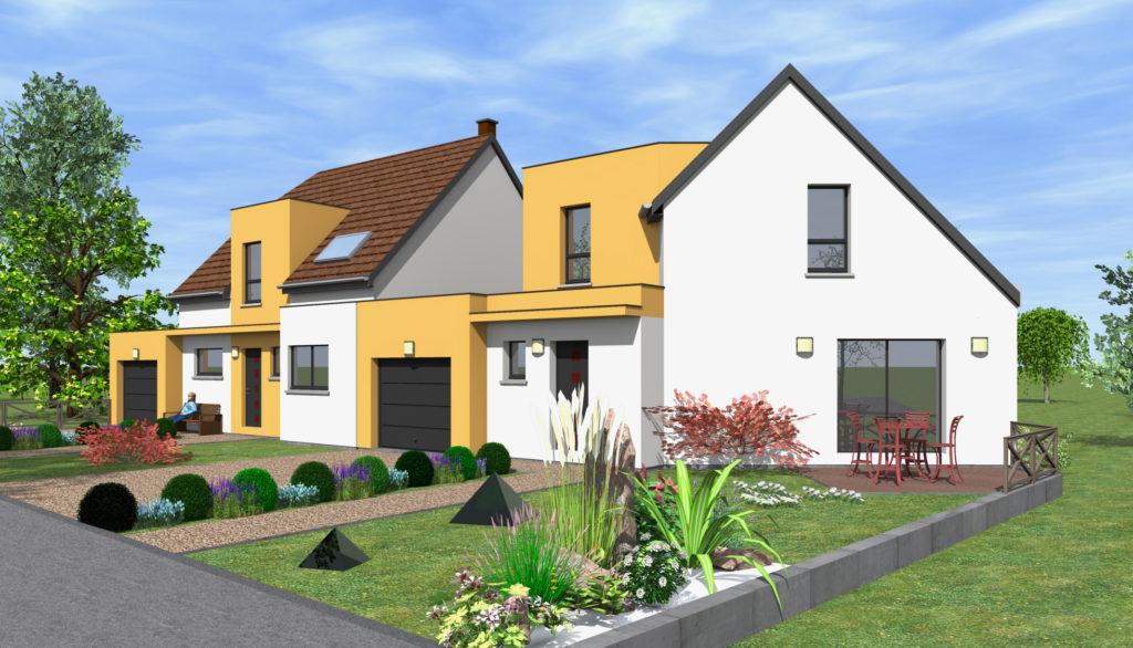 Acheter une maison bi-famille dans le Bas-Rhin