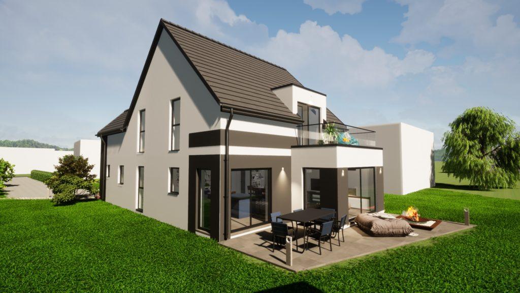 Maison contemporaine du Bas-Rhin, de plus en plus de demandes